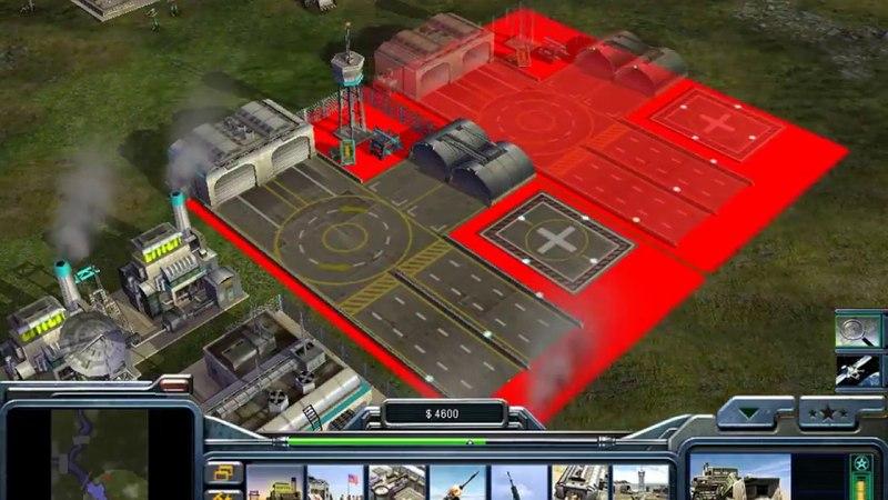 CC Generals Zero Hour 0-потерь, максимальная сложность, авиация vs танки