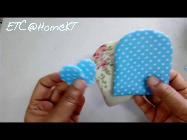 Key Holder ตุ๊กตาผ้า วิธีทำแบบง่าย Ep: 2/3
