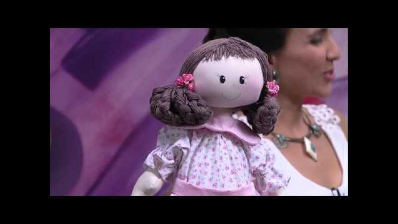 Mulher.com - 31/12/2015 - Boneca de pano - Silvia Torres PT2