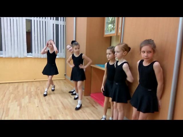 Русский танец открытый урок Алая Заря Югория 15 12 17