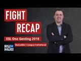 Fight Recap: ESL One Genting 2018