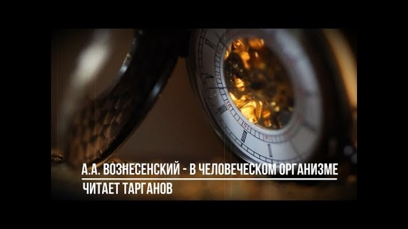А. А. Вознесенский - В человеческом организме Тарганов - 90 процентов тебя