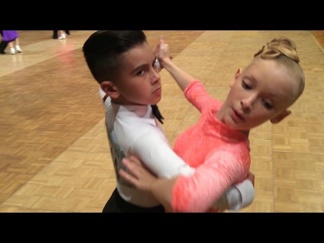 GOC 2017 Juvenille II 8 dances final Standart Tereshin Maxim Zelikovskaya Uliana