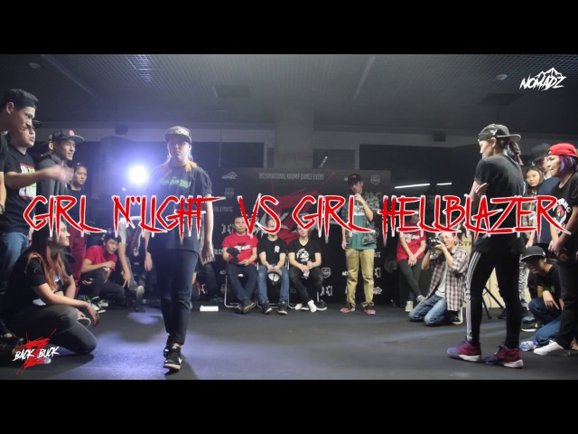 GIRL N'LIGHT vs GIRL HELLBLAZER | BACK 2 BUCK | Girlz Final