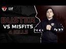 Buster vs. Misfits @ELEAGUE Major 2018 Main Qualifier