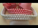 Como bordar pérolas no elástico - Jeito fácil e rápido - DIY Beads Headband