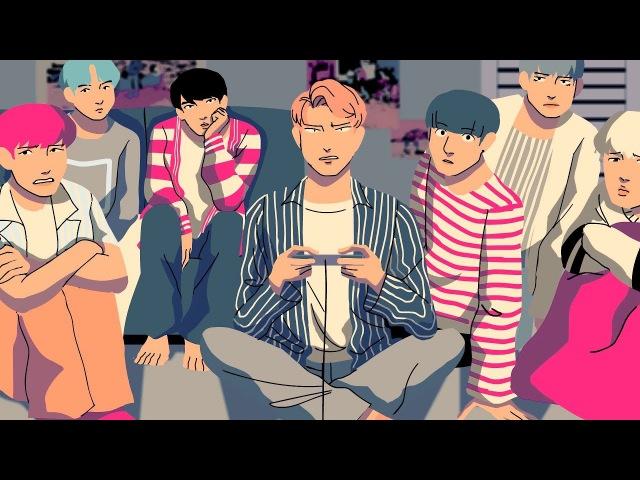 BTS - MIC DROP [ANIMATION]