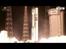 Launch of Vega Rocket with Mohammed VI Satellite for Morocco