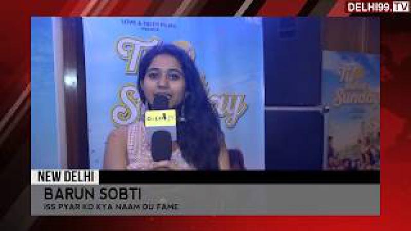 Barun Sobti promoting Tu Hai Mera Sunday   Fame: Iss Pyaar Ko Kya Naam Doon?