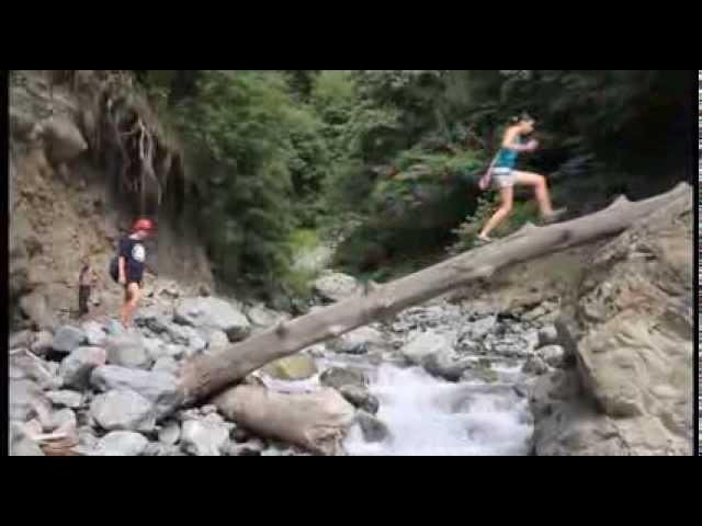 Наш путь к водопаду. Сыроедческий поход по Грузии
