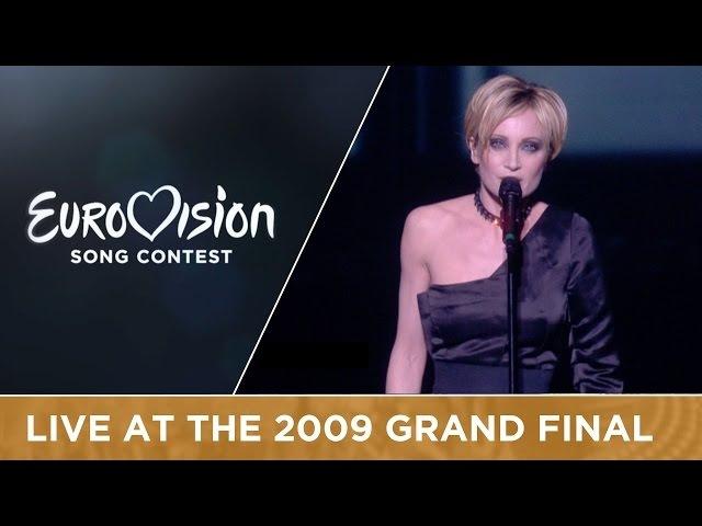 Patricia Kaas - Et S'il Fallait Le Faire (France) LIVE 2009 Eurovision Song Contest