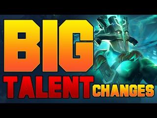 Dota 2 Big New Talent Changes - Patch