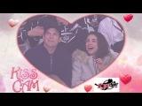 Мила Кунис и Эштон Катчер поцеловались на хоккейном матче