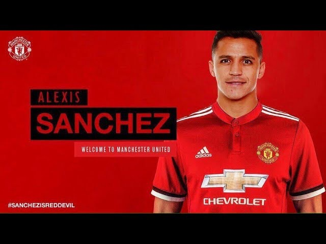 Alexis Sanchez 2018 • Welcome To Manchester United • Best Skills Goals (HD)