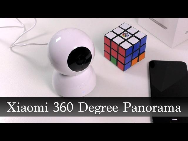 Обзор IP-камеры Xiaomi 360 Degree Panorama с ночным видением