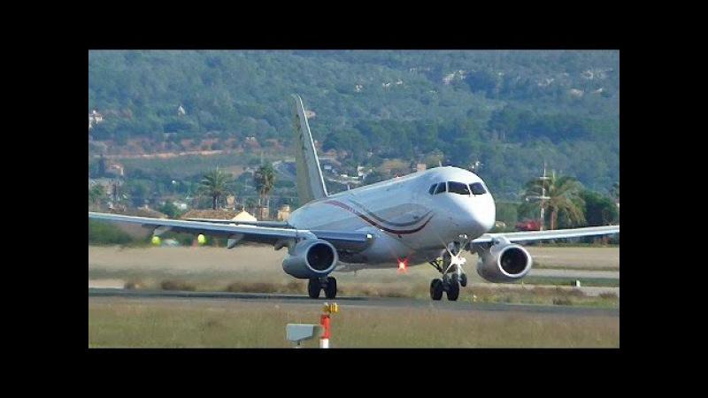 CityJet Sukhoi SSJ-100 EI-FWB departing Palma-De-Mallorca Airport HD
