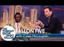 """Jimmy Fallon Does Special Five-Minute """"Homemade"""" Tonight Show on Cardboard Set"""