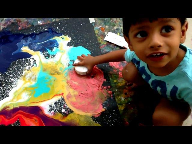 Abstract Painter - Age Two - Advait Kolarkar