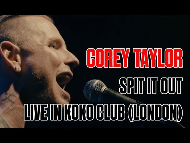 Corey Taylor Spit It Out Acoustic Live in London KOKO Club 08 05 2016