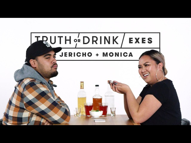 Exes Play Truth or Drink (Jericho Monica) | Truth or Drink