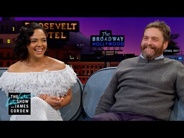 Tessa Thompson Zach Galifianakis Fudged Their Headshots