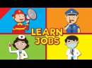 Jobs and Occupations for Kids | What Does He/She Do? | Kindergarten, EFL and ESL | Fun Kids English