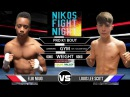 Niko Fight Night 6 Elbi Nguo vs Louis Lee Scott