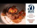 Gaggan's Meatlicious Burger Steak 50 Best Recipe of the Month