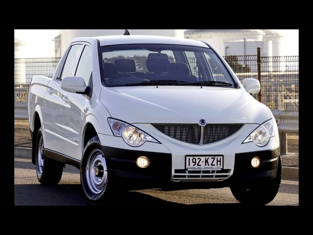 SsangYong Actyon Sports Tradie '2007–11