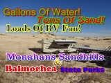 Balmorhea State Park &amp Monahans Sandhills State Park Opposites Attract