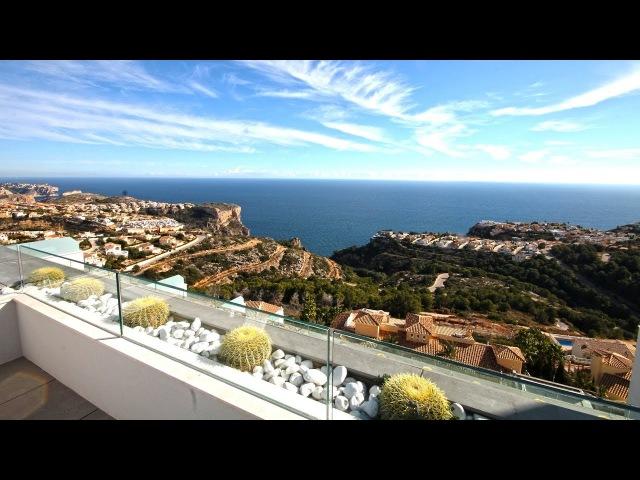 Новый комплекс апартаментов в Испании, район Cumbre Del Sol муниципалитет Benitatchel