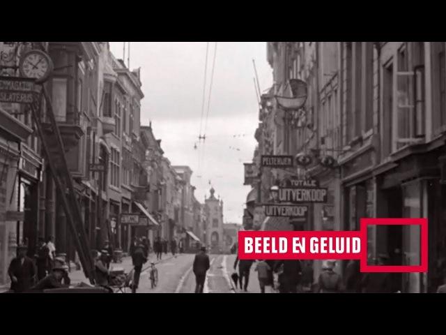 100 jaar oude stadsbeelden van Groningen (1919)