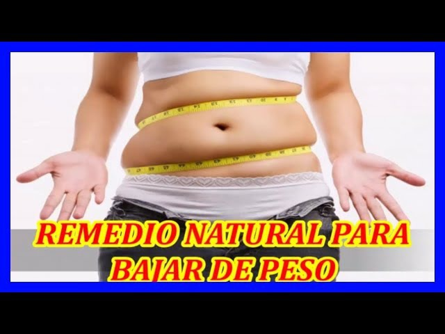 Remedios naturales para perder la grasa de tu abdomen