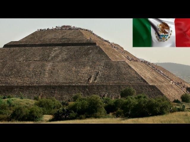 Mexico - La Ciudad de los Dioses, Grandiosas Piramides de Teotihuacán