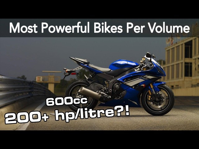 These Are The Most Powerful Bikes Per Engine Displacement