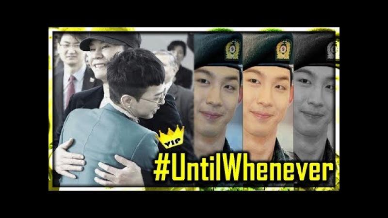 BIGBANG's G-Dragon Taeyang Military Enlist / MORE THAN BROTHERS 2018