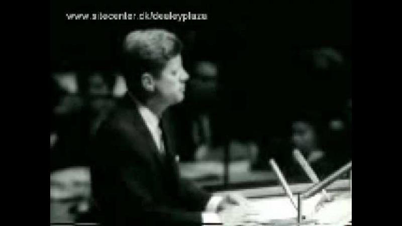 20 сентября 1963 - Джон Кеннеди предлагает СССР совместную миссию на Луну