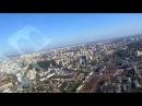 Flight over Kiev from IEV, 600ft. Полет над Киевом из Жулян на высоте до 200 метров.