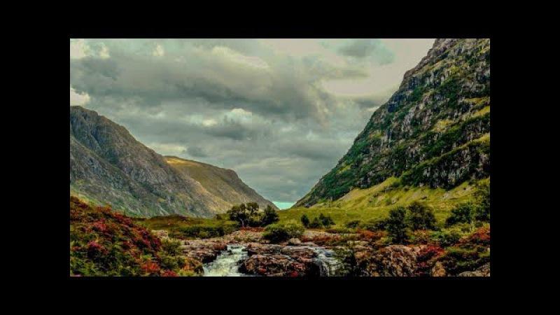 Природа Шотландии. Glencoe. Scotland.