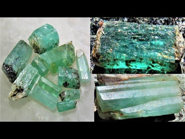 Aquamarine, Beryl Emerald everywhere