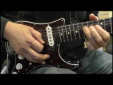 Gary Moore Style - Blues Improvisation Video (A minor) @MLC Academy Nottingham Dave Buckley