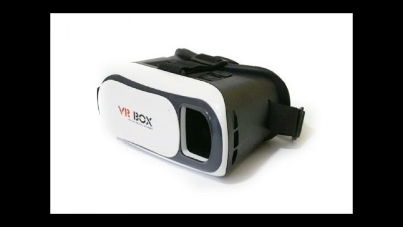 Очки виртуальной реальности VR BOX с AliExpress