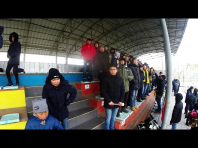 AFC CUP Qualification Dordoi Bishkek - ahal / Квалификационный матч Кубка АФК 2018 Дордой Бишкек - ахал