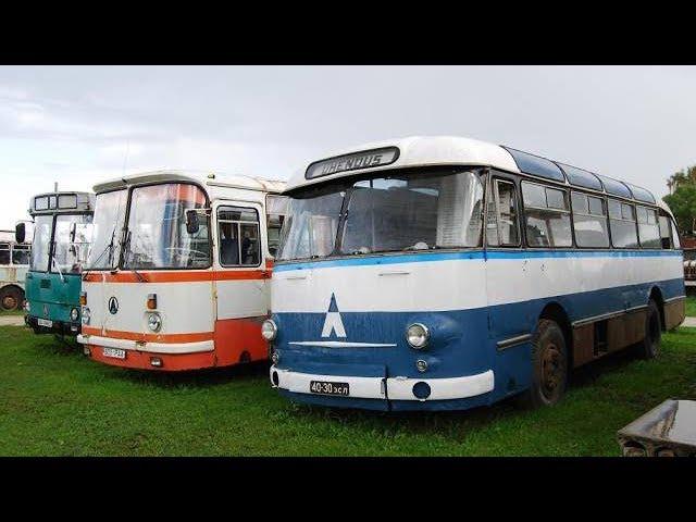 Ретро Автомобили СССР: Автобус | Троллейбус | Грузовик | Автомобиль. Обзор старой техники (2 серия)