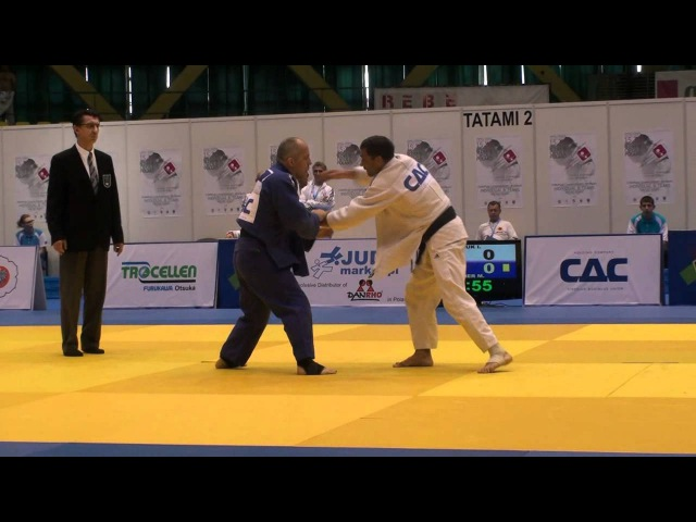 Judo Veterans EM 2012 Opole M4-73kg Glyvuk(RUS) - Praher(AUT)