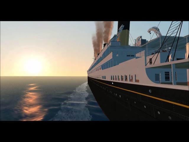 Virtual sailor : RMS BRITANNIC