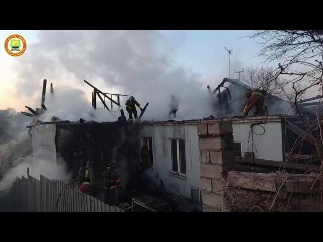 Рятувальники ліквідували пожежу у приватному житловому будинку
