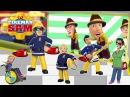 Пожарный Сэм Семья пальчиков на русском ¦ Детская Песня про пожарного Сэма