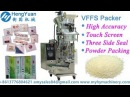 Home Used VFFS three or four sides packing machine for powder packed in sachet from roller film