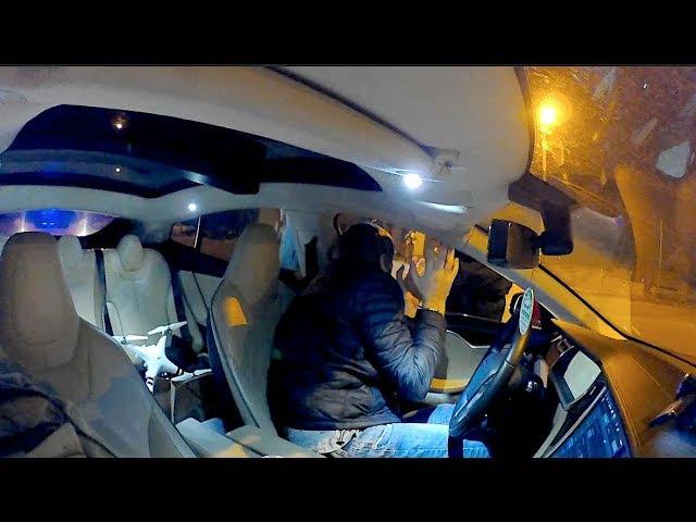 Погоня 🚔 Tesla vs Полиция Prius Выйти руки на капот 🚓👮🏻♂️🤦🏻♂️